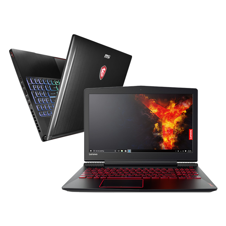 High-end gaming laptop